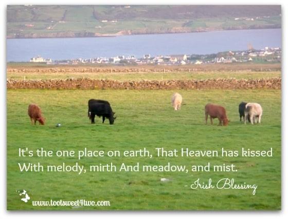 Heaven has Kissed Irish Blessing
