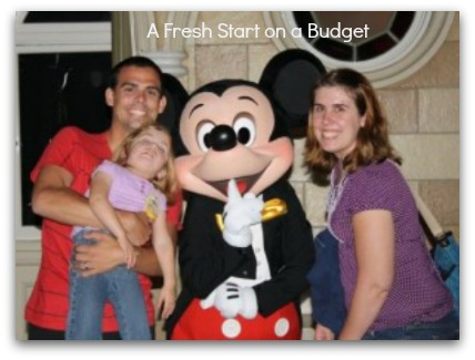 Karissa - family portrait - A Fresh Start on a Budget