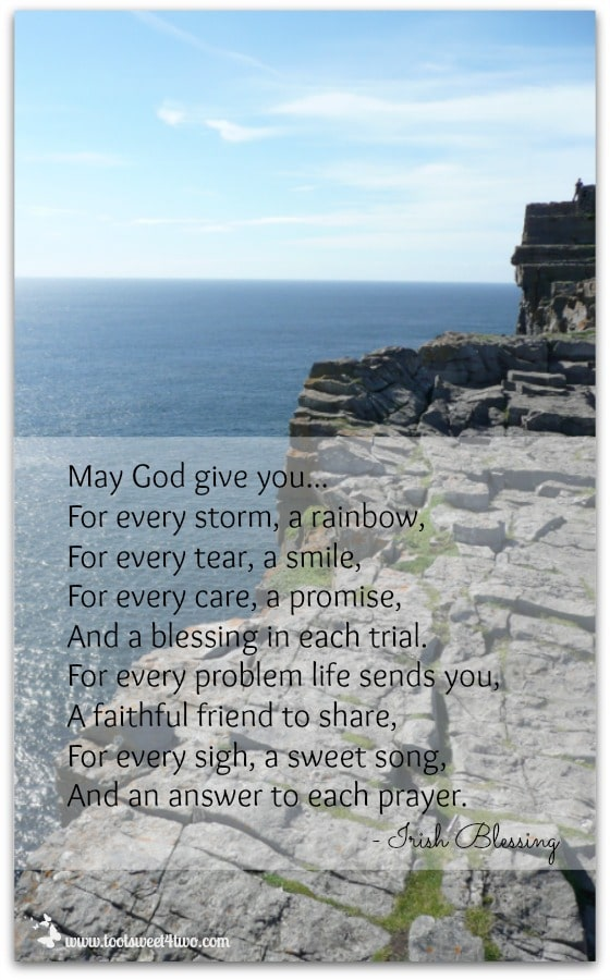 May God give you Irish Blessing