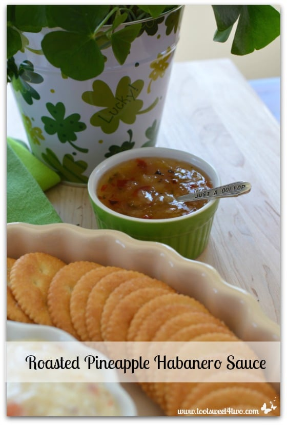 Roasted Pineapple Habanero Sauce