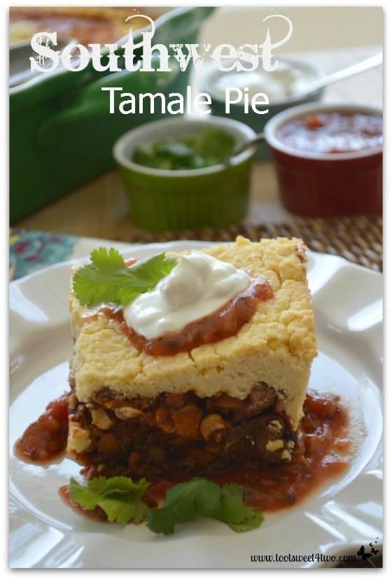 Southwest Tamale Pie close-up