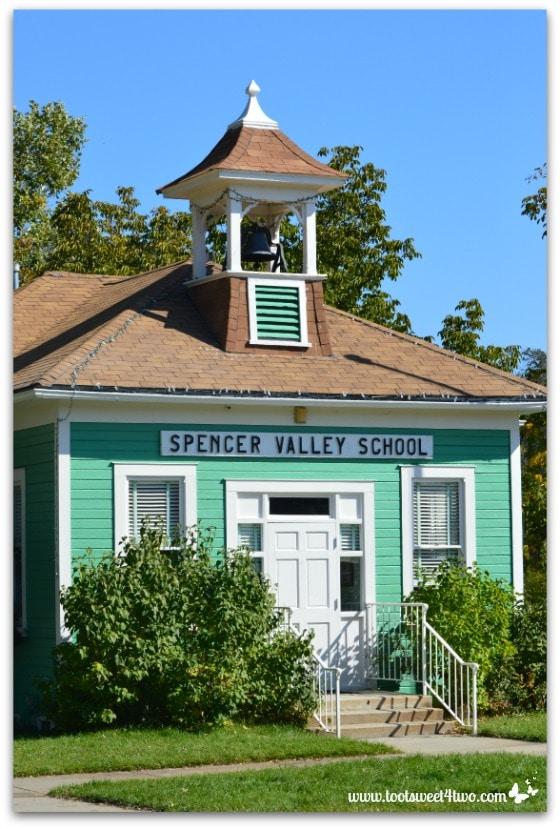 Spencer Valley School, Wynola, California - 42 Shades of Green