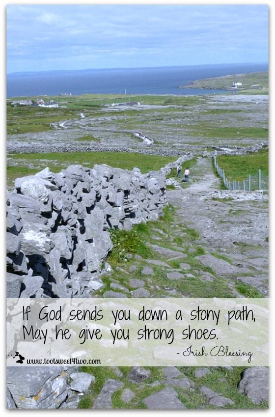 Stony Path Irish Blessing