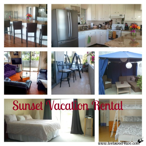 Sunset Vacation Rental collage - 17 girls and a baby