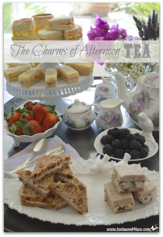 The Charms of Afternoon Tea cover