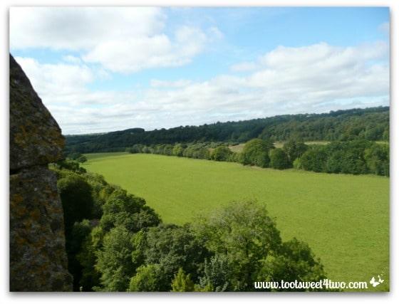 The view from Blarney Castle - Baloney vs Blarney