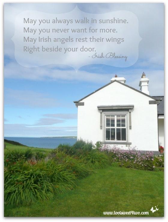 Walk in Sunshine Irish Blessing