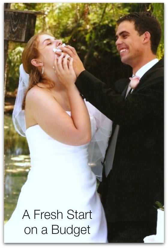 Wedding Day - A Fresh Start on a Budget