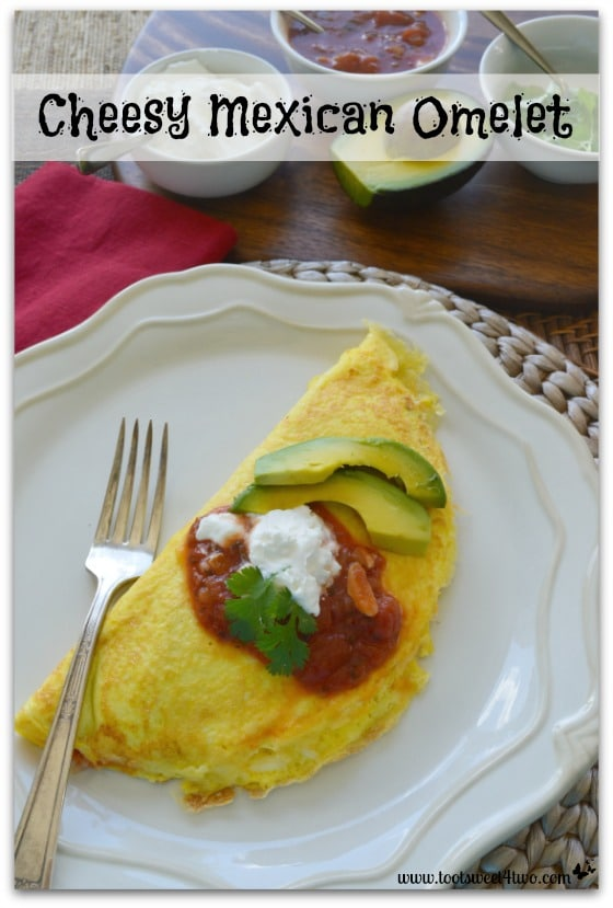 Cheesy Mexican Omelet Pinterest