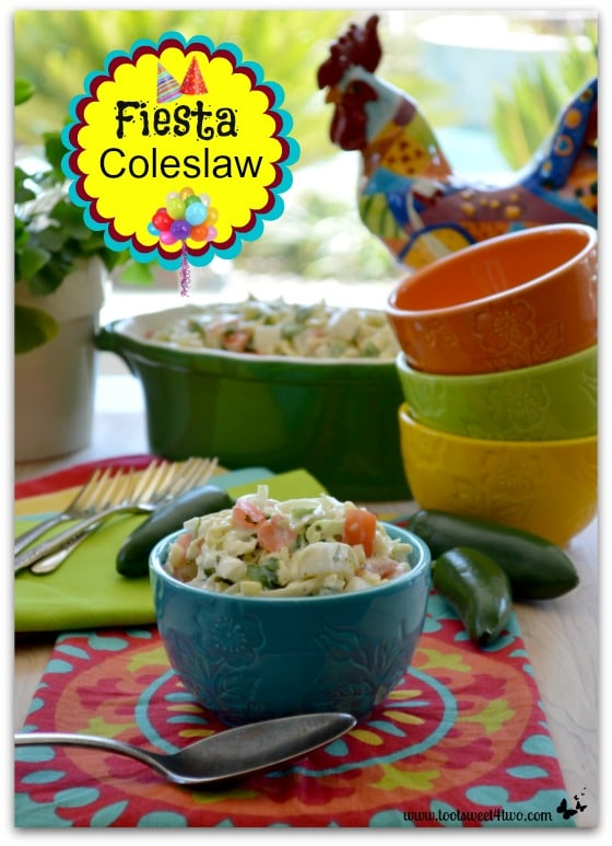 Fiesta Coleslaw with Rooster