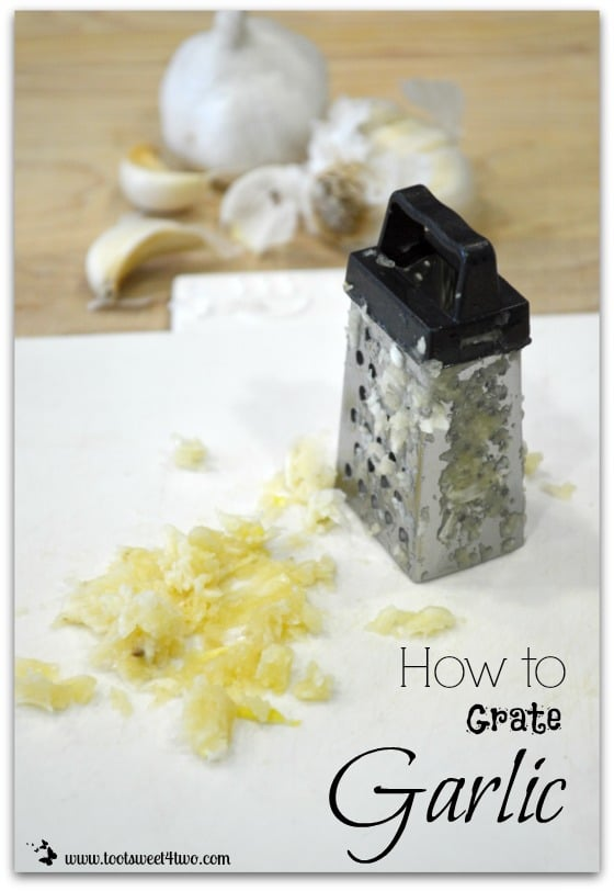 How to Grate Garlic cover