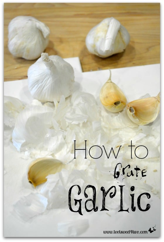 How to Grate Garlic