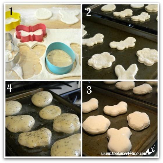 Making Buttery Springtime Poppy Seed Dinner Rolls