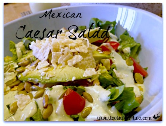 Mexican Caesar Salad - 20 Awesome Mexican Recipes for Cinco de Mayo