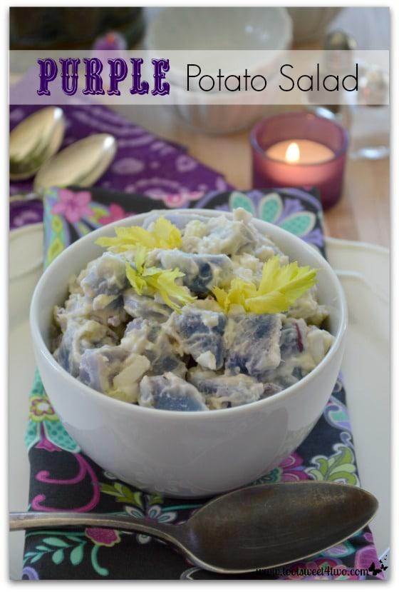 Purple Potato Salad Pinterest