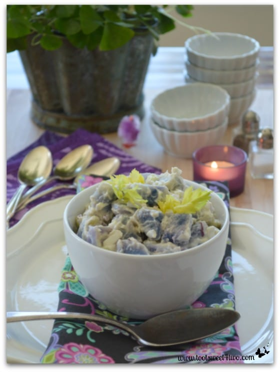 Purple Potato Salad vertical
