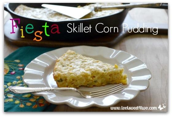 Fiesta Skillet Corn Pudding cover