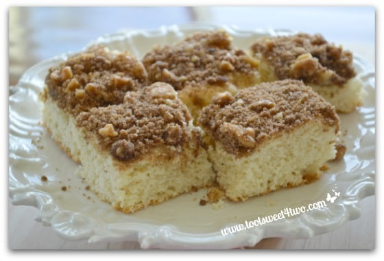 Old fashioned coffee cake 74