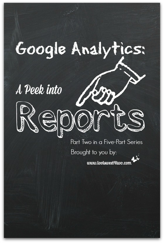 Google Analytics - A Peek into Reports cover