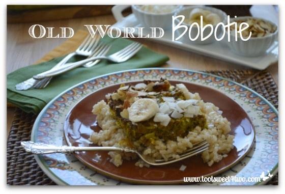 Old World Bobotie Pic 4