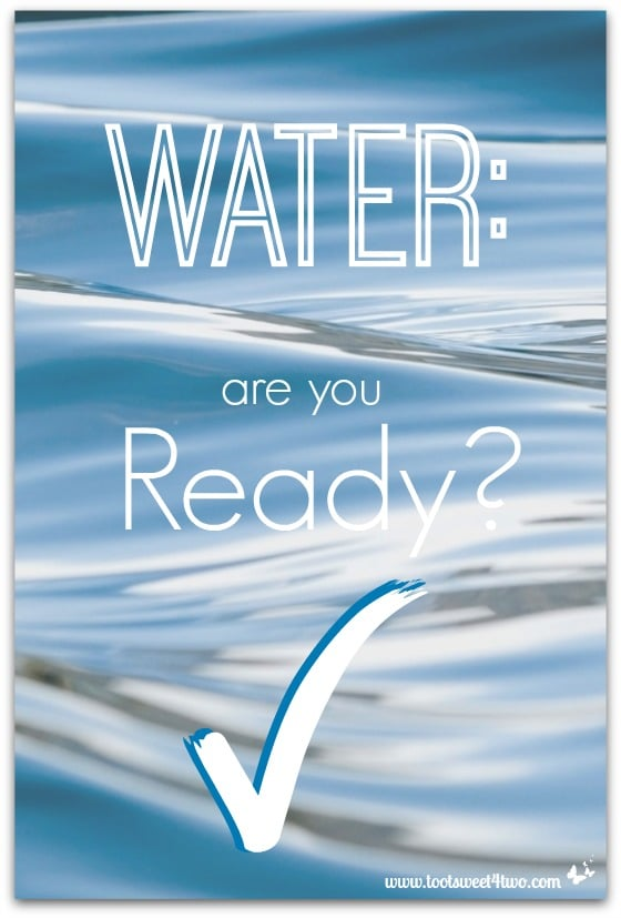 Water are you ready cover