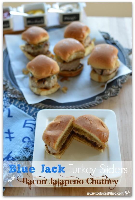 Blue Jack Turkey Sliders with Bacon Jalapeno Chutney - Pic 1