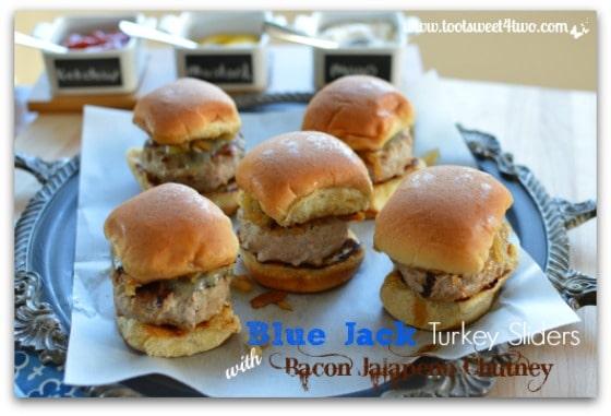 Blue Jack Turkey Sliders with Bacon Jalapeno Chutney - Pic 2