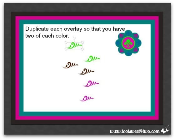 Easy Placecard - Step 32