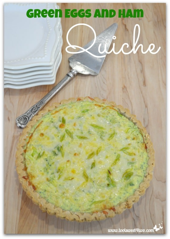 Green Eggs and Ham Quiche - Pic 1