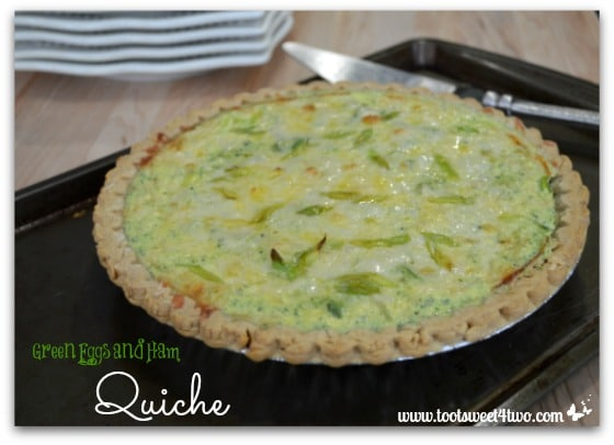 Green Eggs and Ham Quiche - Pic 5