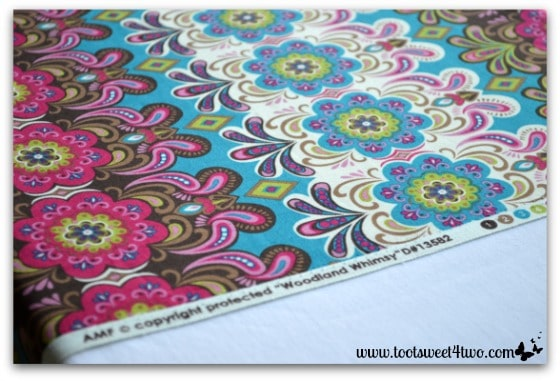 How to Make an Easy No Sew Table Runner - Pic 2 - choose a special fabric