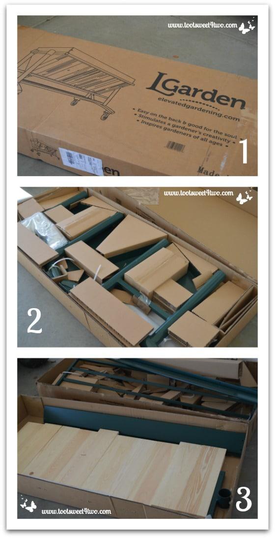 LGarden arrives in box