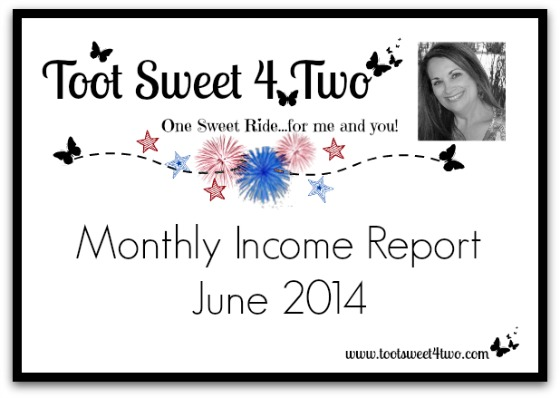 Monthly Income Report – June 2014