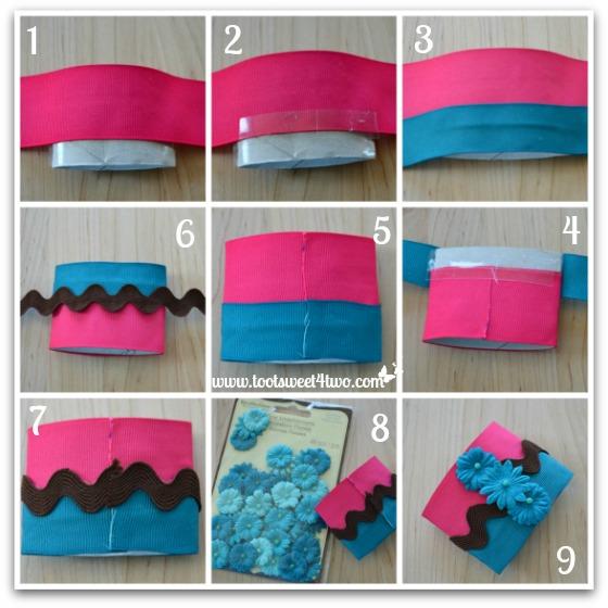 Napkin Ring tutorial - How to Make Napkin Rings for Paper Napkins