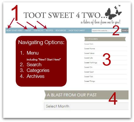 Navigating Options Pic 2