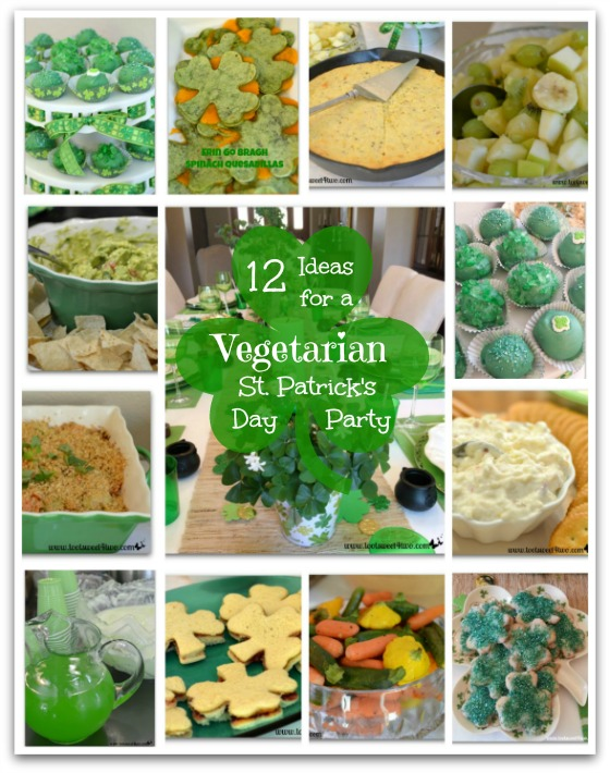 PicMonkey Basics - Collage - 12 Ideas for a Vegetarian St. Patrick's Day Party
