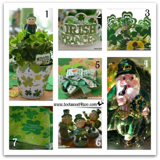 PicMonkey Basics - Collage - St. Patrick's Day decorations