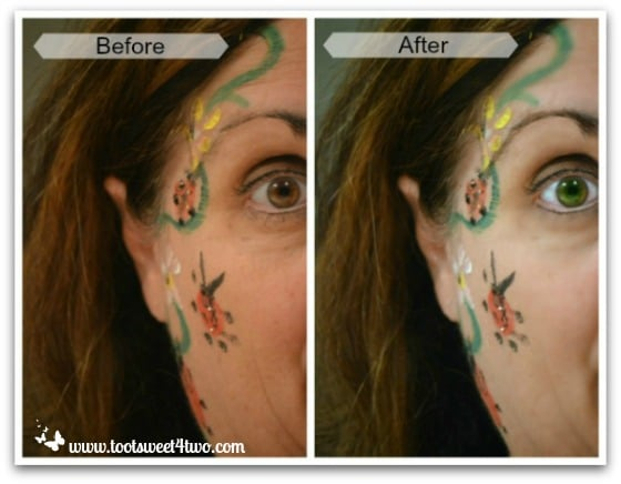 PicMonkey Basics - Touch Up a Photo - Pic 6 - Before and After