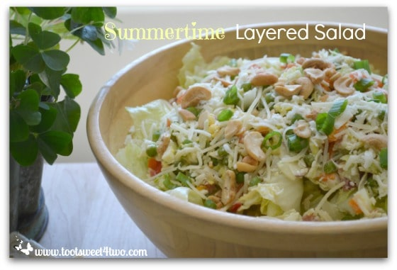 Summertime Layered Salad - Pic 3