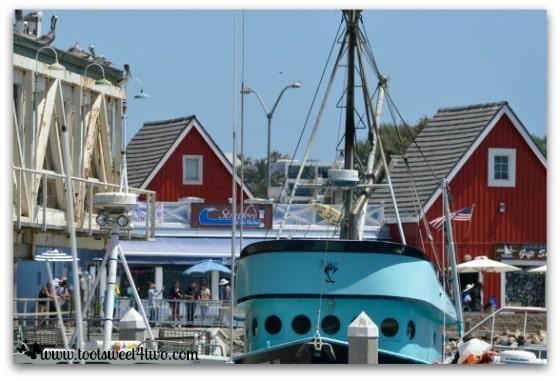 Antoinette in Oceanside Harbor