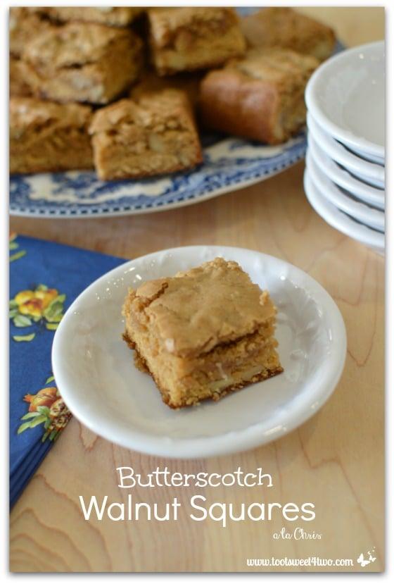 Butterscotch Walnut Squares - Pic 3