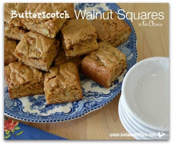 Butterscotch Walnut Squares a la Chris - Pic 2