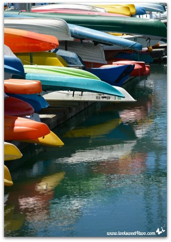 Colorful boats - Oceanside Harbor