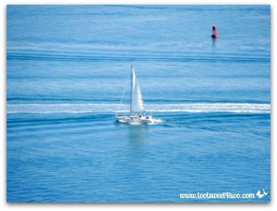 Love Leaves a Memory - sailboat carrying Dad out to sea