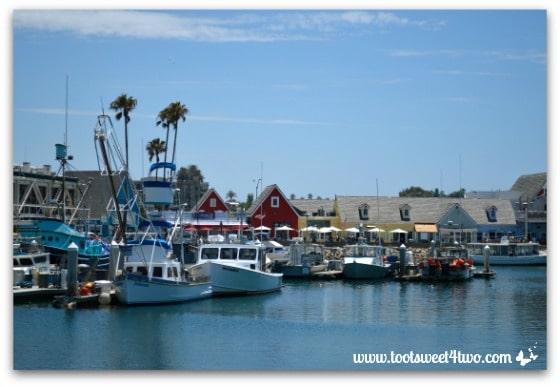 Oceanside Harbor overview