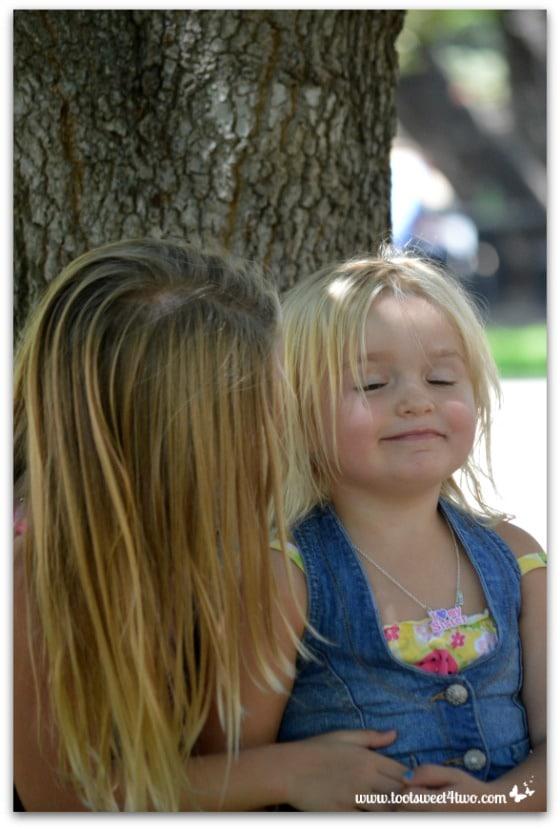 Strike a Pose - Princess P and Princess Sweetie Pie - Pic 11 - Old Poway Park