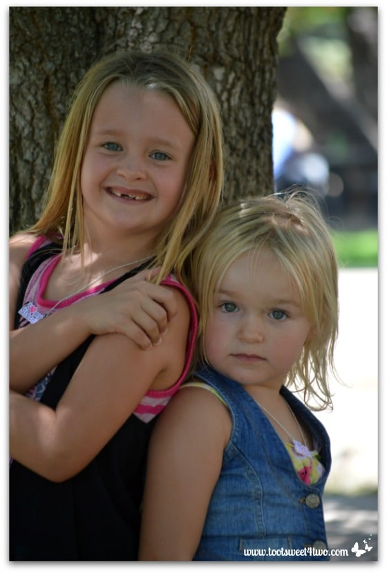 Strike a Pose - Princess P and Princess Sweetie Pie - Pic 12 - Old Poway Park
