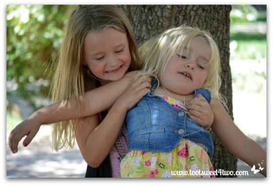 Strike a Pose - Princess P and Princess Sweetie Pie - Pic 15 - Old Poway Park