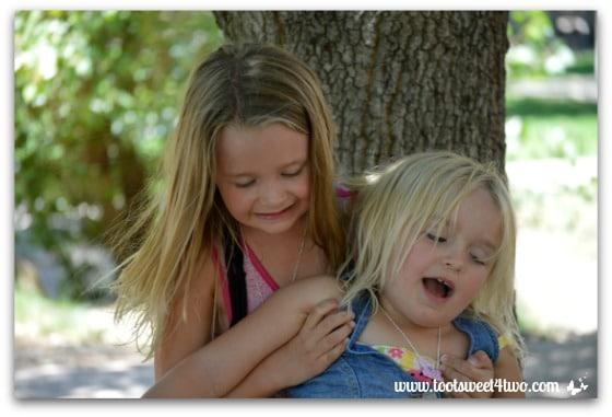 Strike a Pose - Princess P and Princess Sweetie Pie - Pic 16 - Old Poway Park