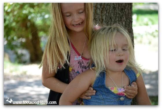 Strike a Pose - Princess P and Princess Sweetie Pie - Pic 17 - Old Poway Park